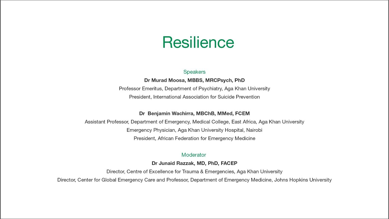 Resilience | Global Dialogues