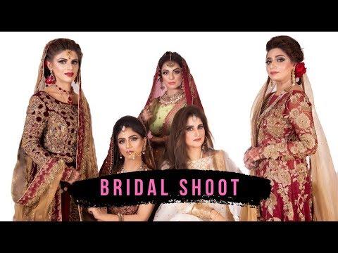 Bridal Makeup Shoot | Bridal Makeup Tutorial | Sahiba's Signature Look Studio | BTS | Coming Soon thumbnail