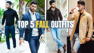 5 Fall Outfits Every Guy Should Own