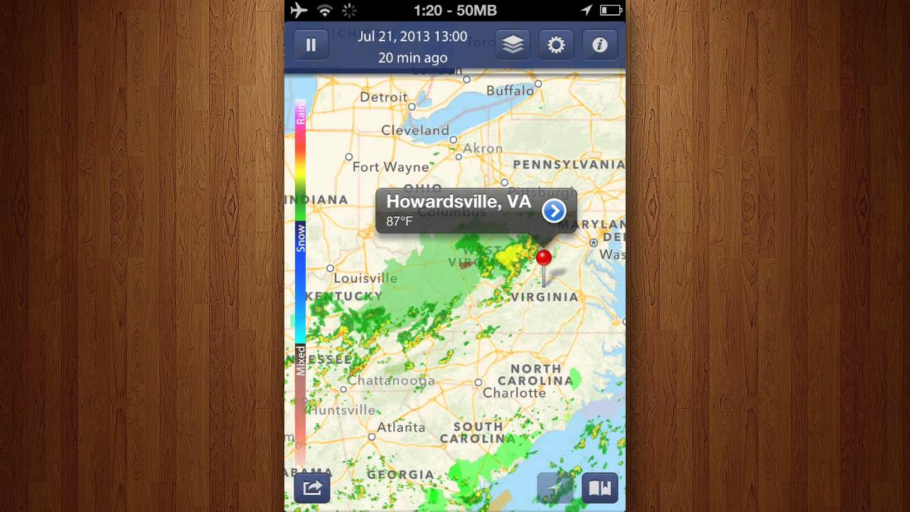NOAA Radar Pro - Storm Alerts, Hurricane Tracker & Weather Forecast on