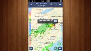 NOAA Radar Pro - Storm Alerts, Hurricane Tracker & Weather Forecast Review