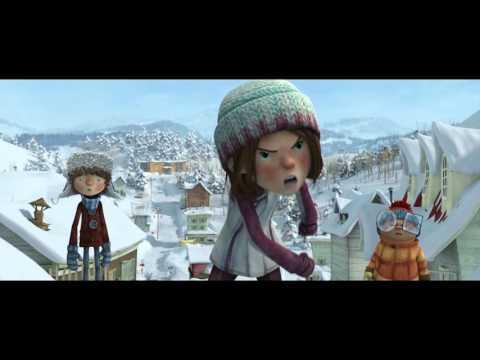Снежная битва мультфильм 2015 трейлер