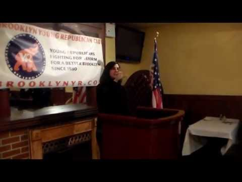 Brooklyn Young Republican Club Welcomes Assemblywoman Nicole Malliotakis Part 1