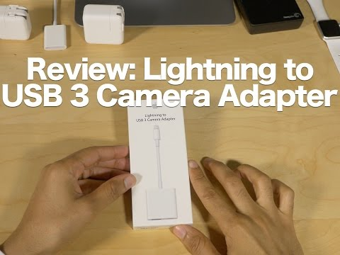 Review: Lightning to USB 3 Camera Adapter - a podcaster's best friend