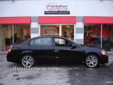 2005 Nissan Altima Se R Framingham Auto Mall Youtube