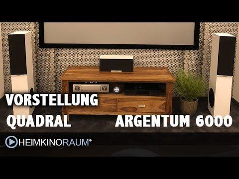 quadral ARGENTUM 6000 5.0 Surround Lautsprecher Set Vorstellung