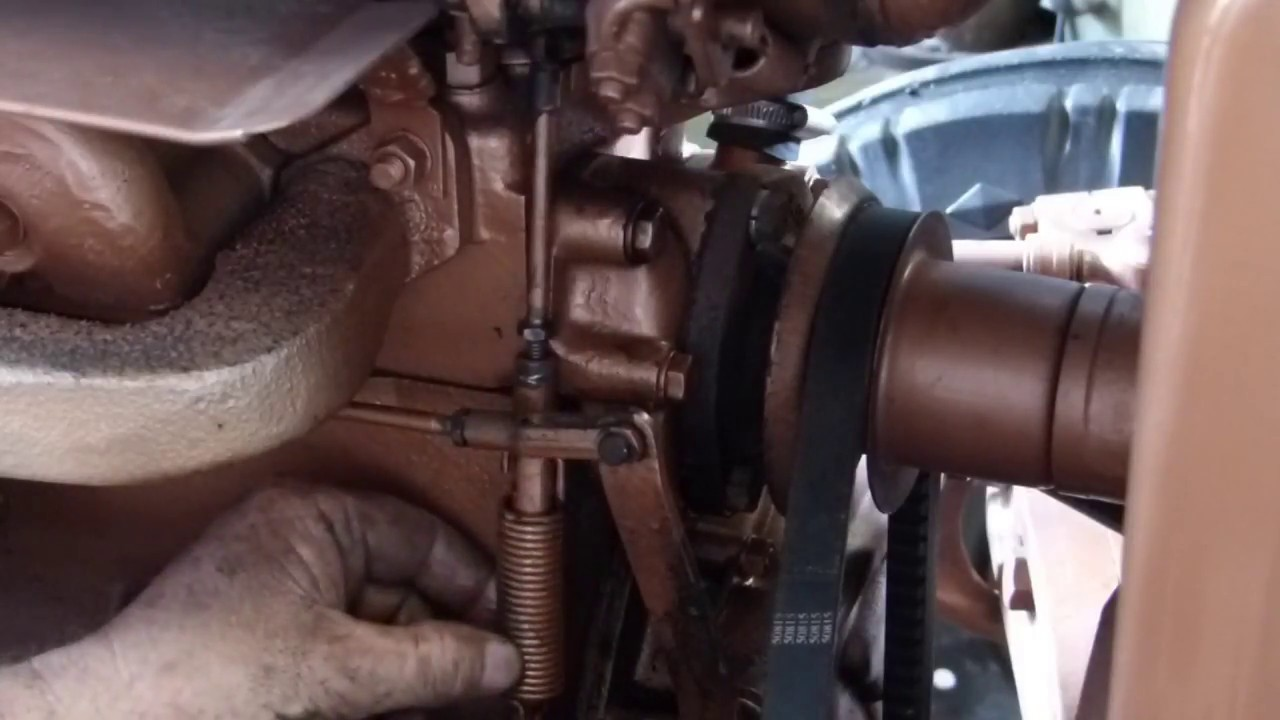 how to adjust your ferguson tractor governor [ 1280 x 720 Pixel ]