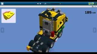 Грузовик лего с набора 6753 Highway Transport LEGO Creator