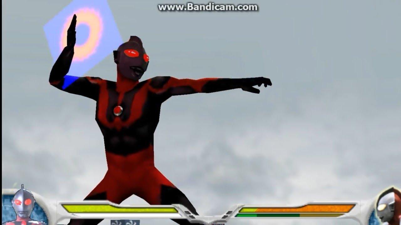 Ppsspp Ultraman Fighting Evolution 0 Dark Ultraman Vs R B Ultraman Youtube