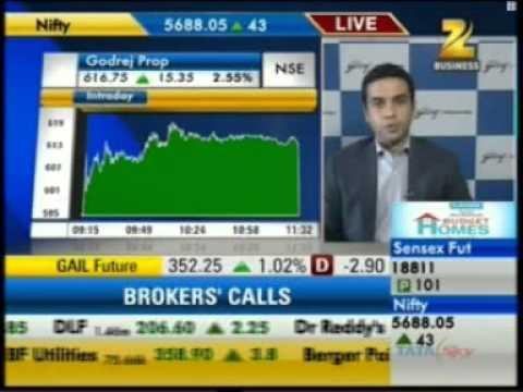 1108 Zee Business Sensex Strategy 02 Nov 2012 05min 45sec Godrej Prop Q2   Mr  Pirojsha Godrej   Director, Godrej Properties 11 34am