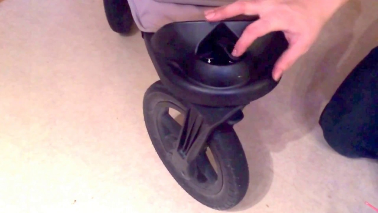 How To Repair Front Swivel Wheel S Locking Mechanism On Babyjogger