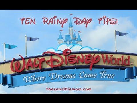 10 Tips for Navigating Walt Disney World on a Rainy Day YouTube