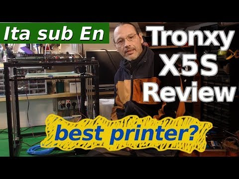 The Pleasure of Building: Tronxy X5S Review and Upgrade List