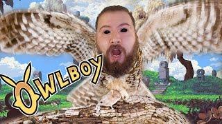 ITS A BIRD ! ITS A PLANE ! NO.. ITS OWLBOY ! - OwlBoy game - PC GamePlay - OwlBoy gameplay