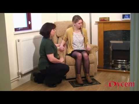 Dycem Non-slip Floor Mats - YouTube