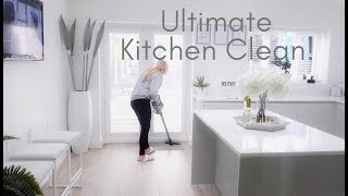 Ultimate Cleaning Motivation UK Speed Clean With Me Deep Kitchen Clean