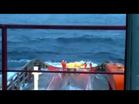 Anchor handling job, AHT Swissco Jade. Offshore Vietnam