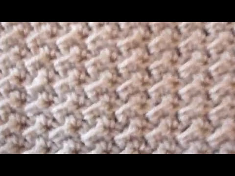 Crochet Crunch Stitch Blanket By Crochet Hooks You Youtube