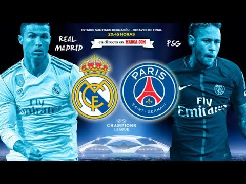 Real Madrid Vs Paris saint germain Partido En Vivo Proximo Partido Oficial