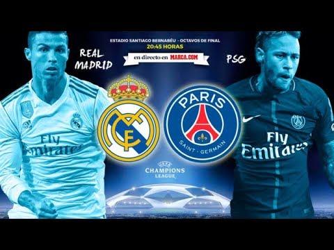 Real madrid vs paris saint germain partido en vivo proximo partido oficial
