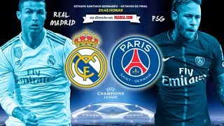 Real Madrid Vs Paris saint germain Partido En Vivo Proximo Partido ...