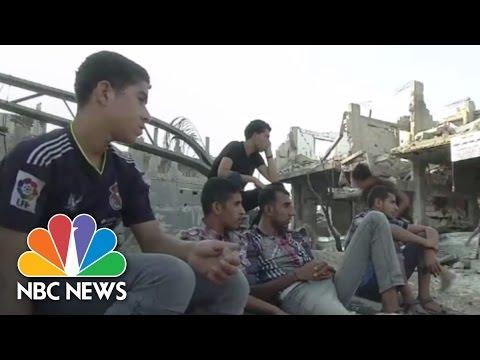 Rebuilding Gaza Amid Peace Negotiations | NBC News