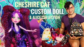 Cheshire Cat Inspired Custom OOAK Disney Doll & Alice Collection