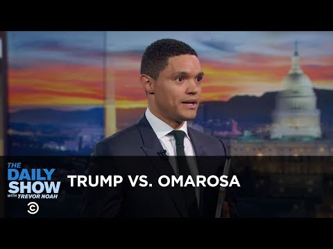 Trump Meets His Match In Omarosa - Between the Scenes | The Daily Show thumbnail
