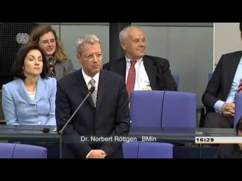 Bundestag zitiert Minister Röttgen herbei - Vizepräsident Oswald ist irritiert
