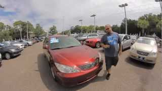 Autoline's 2005 Toyota Camry LE  Walk Around Review Test Drive