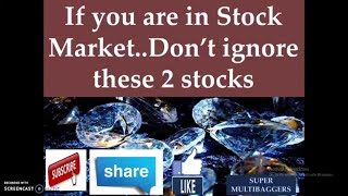 Multibagger stocks - 2 excellent shares which you can not ignore