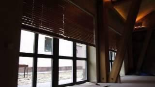 видео Горизонтальные алюминиевые жалюзи в СПб от производителя