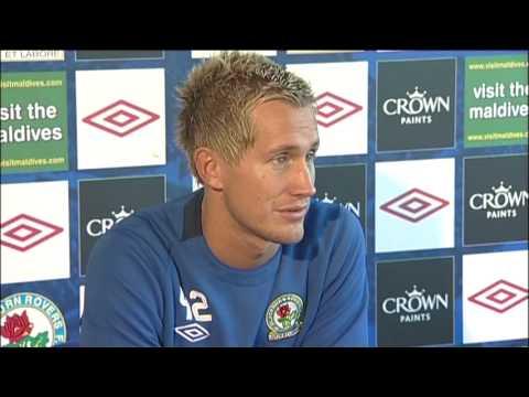 Pederson optimistic for new season after signing Blackburn deal