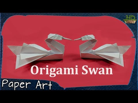 How to make Origami Swan | Easy Handmade Floating Toy | Paper Art