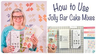 How to Use the Jolly Bar Cake Mix Recipe Pads for Quilts