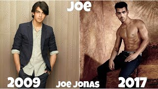 Jonas Then And Now 2017