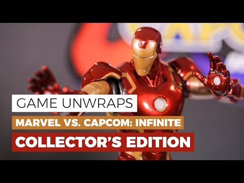 Marvel vs. Capcom: Infinite - COLLECTOR'S EDITION - #GAMEUnwraps - 동영상