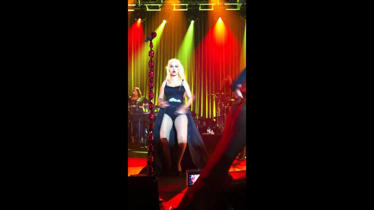 christina aguilera live halloween party 2010 aint no other man - Christina Aguilera Halloween