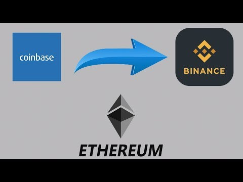 How to Move Ethereum from Coinbase to Binance