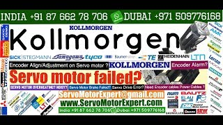 Kollmorgen Repair Service Servo motor Encoder Alignment. Heidenhain Adjust Alignment Prodedure