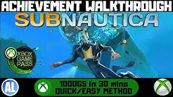 Subnautica (Xbox One) Achievement Walkthrough