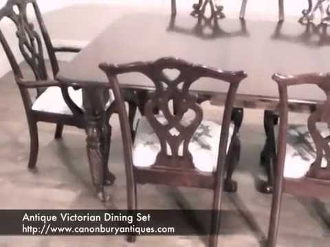 Antique Victorian Dining Set