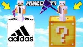 SFIDA con i LUCKYBLOCK ADIDAS GIGANTI !! - Minecraft ITA