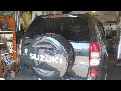 Suzuki Grand Vitara .Как убрать стук кардана