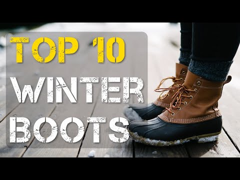 Top 10 Best Winter Work Boots for Men and Women