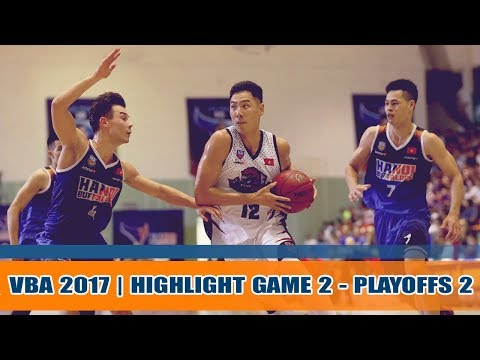 Highlight Bóng Rổ || Bán kết 2 - Game 2 VBA 2017: Hanoi Buffaloes vs Thang Long Warriors 12/11