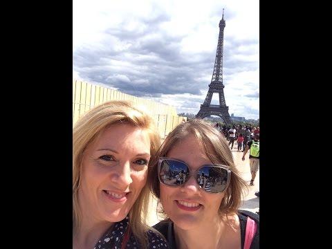Ma semaine avec EMMA / J4: Louvre, Tuileries, Concorde, Champs Elysées, Tour Eiffel et Notre Dame