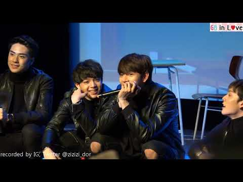 6moons fan meeting 1st | Show Part 08 (final) | ก็อต บาส เต้