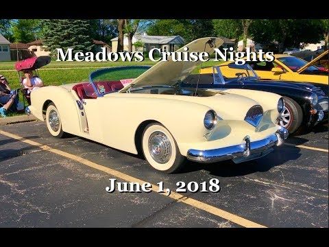 Meadows Cruise Nights - June 1, 2018 - Rolling Meadows, IL