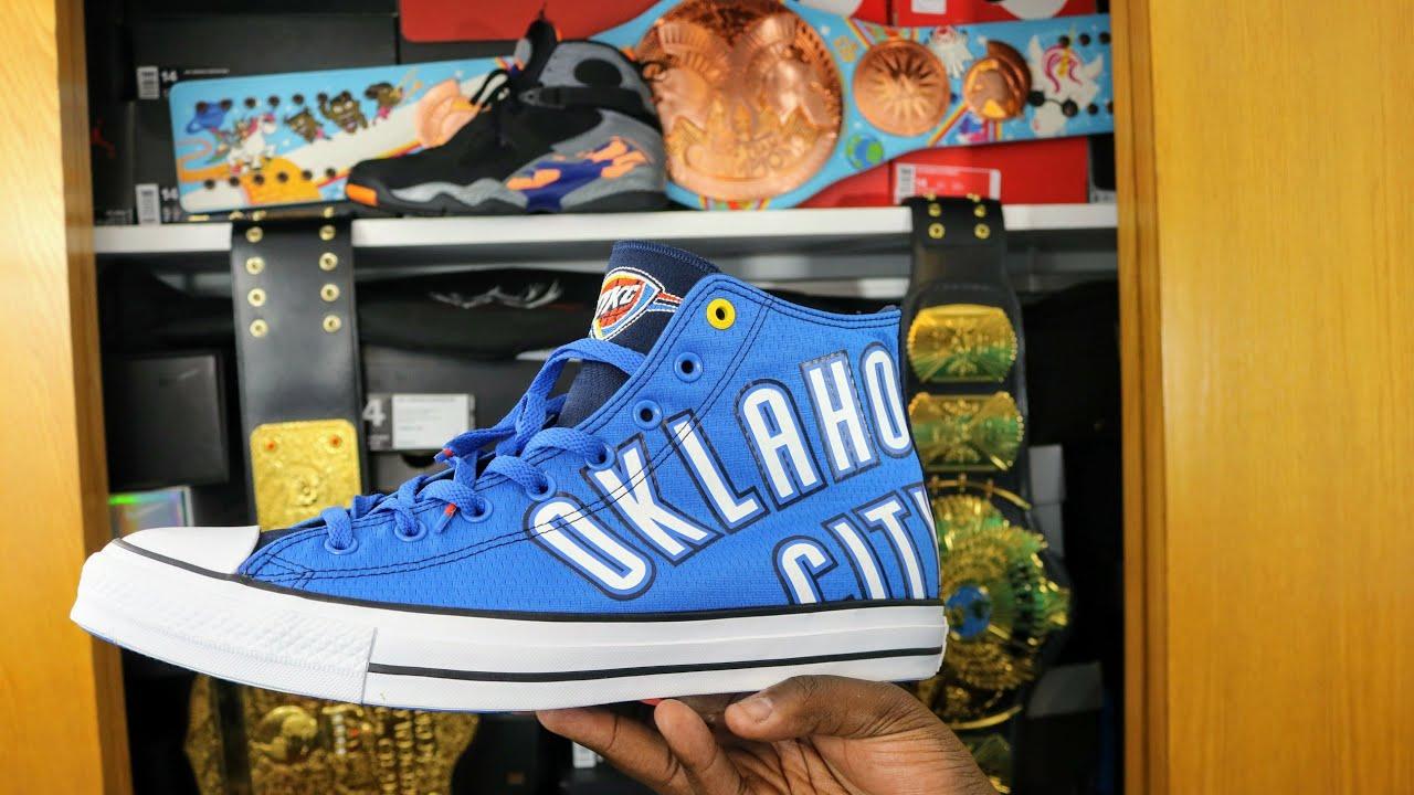37830dc3081d Converse Chuck SE Oklahoma City Thunder Review and On Feet! - YouTube